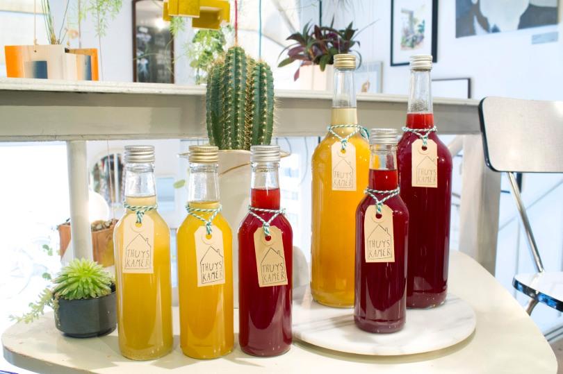limonade literfles rood geel