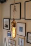 lamp beige wit zigzag